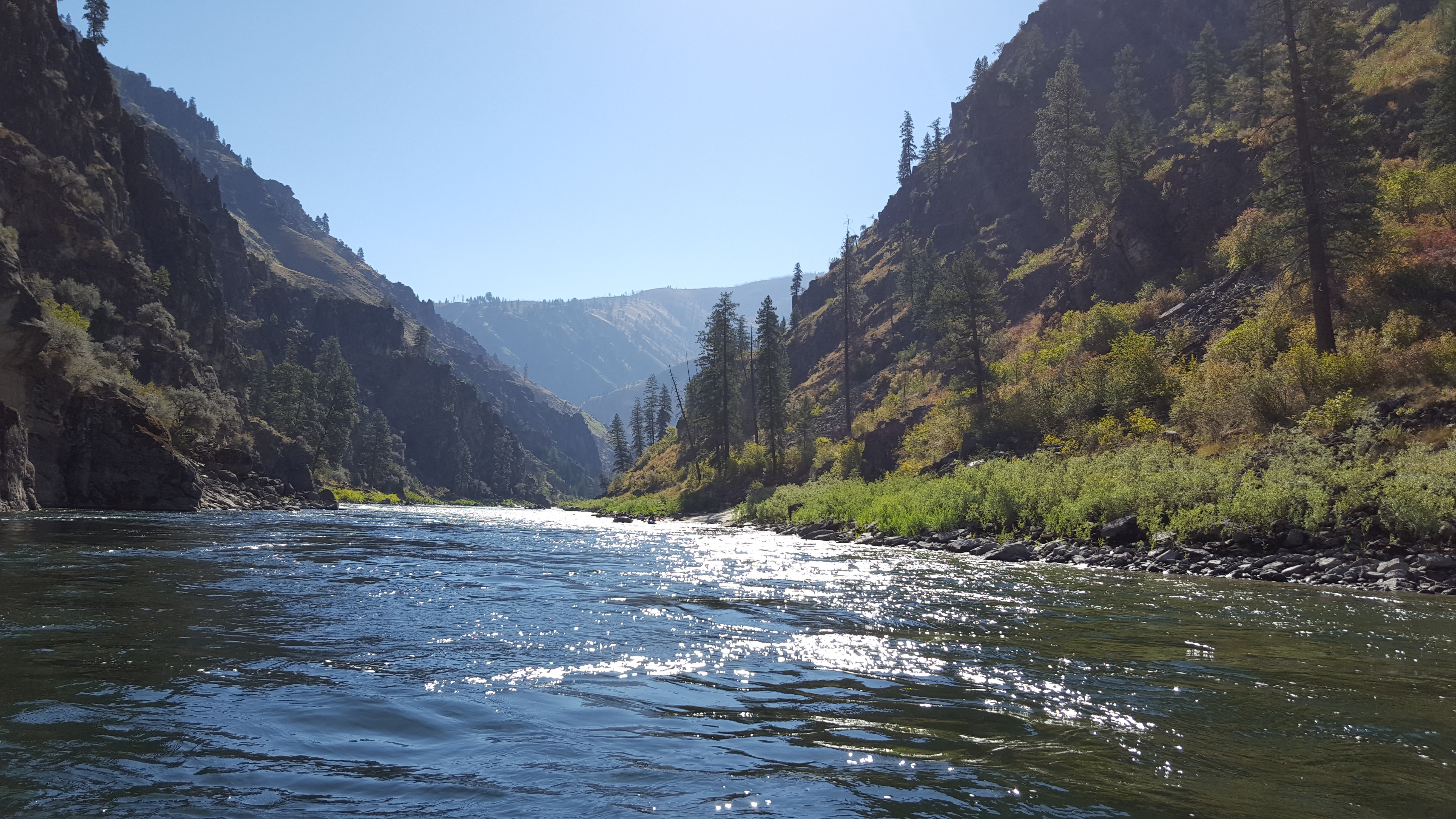 The Main Salmon River.