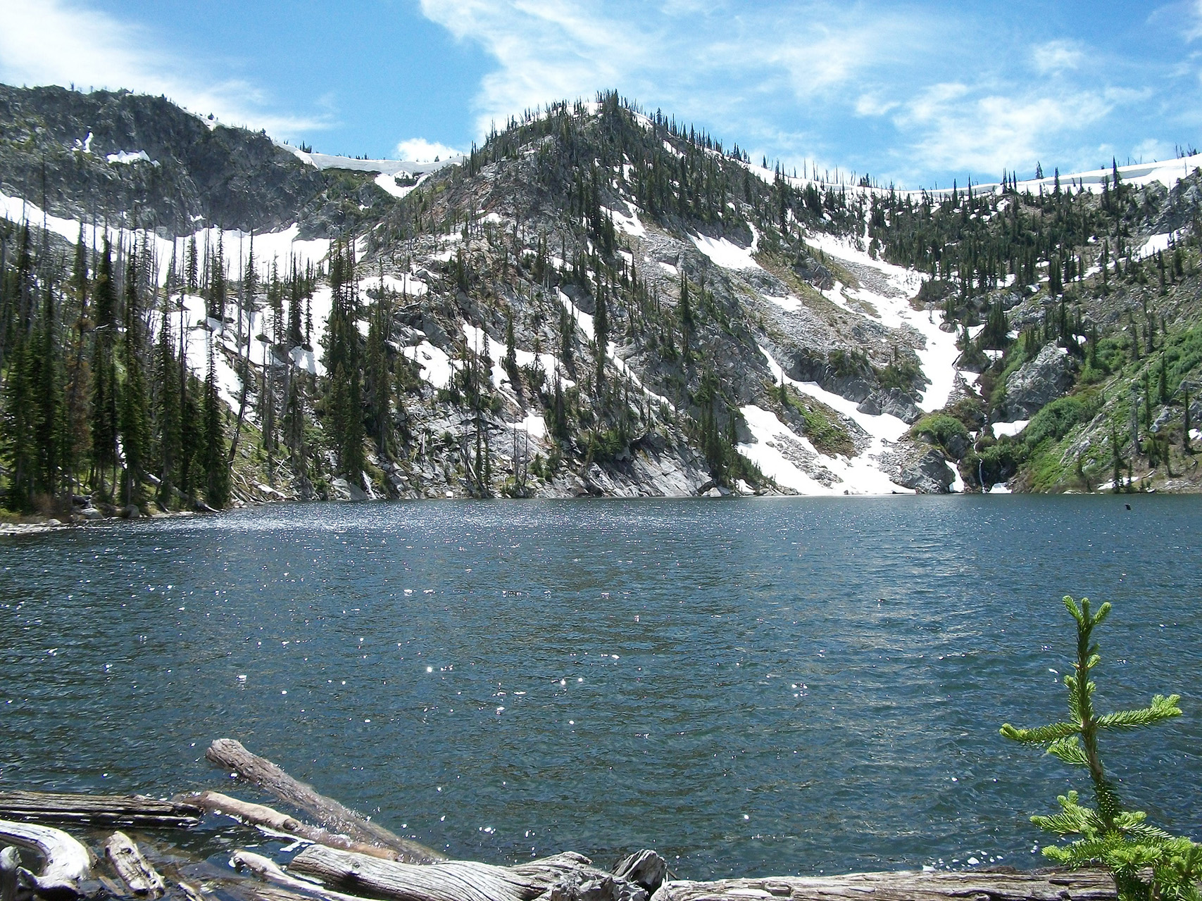 Josephine Lake on the McCall Ranger District.
