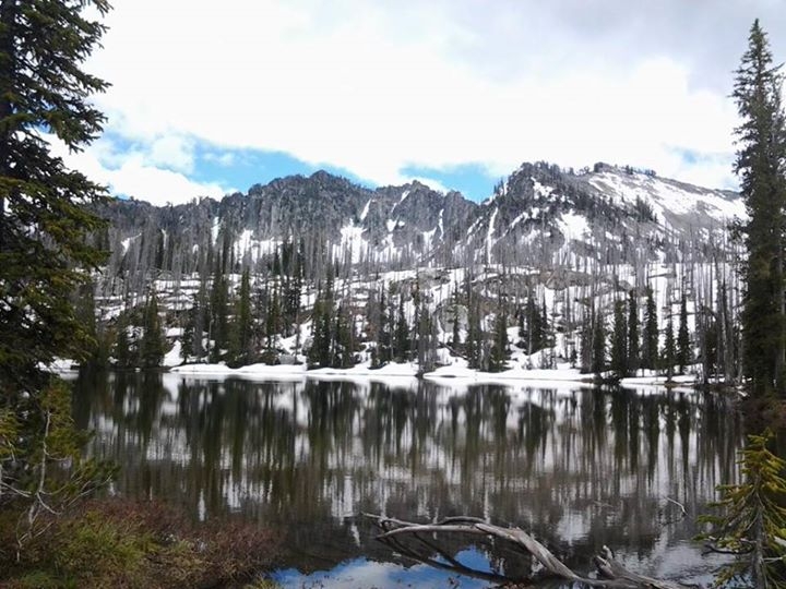 Twenty Mile Lake on the McCall Ranger District.